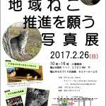 地域猫のための写真展